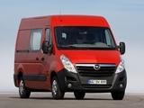 Photos of Opel Movano Van 2010