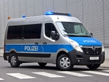 Photos of Opel Movano Polizei 2012