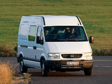 Pictures of Opel Movano Van 1998–2003