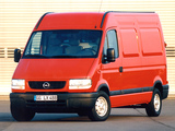 Opel Movano Van 1998–2003 wallpapers