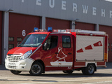 Opel Movano Double Cab Feuerwehr 2010 wallpapers