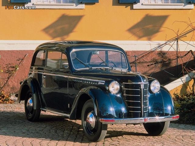Opel Olympia 2-door Limousine 1947–49 photos (640 x 480)