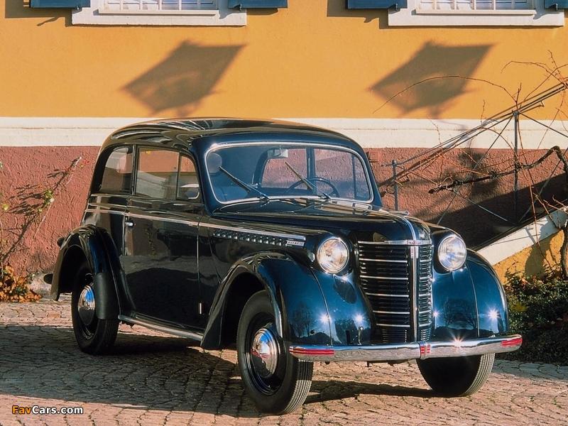 Opel Olympia 2-door Limousine 1947–49 photos (800 x 600)