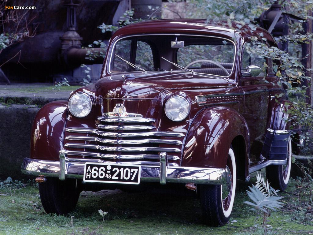 Opel Olympia 2-door Limousine 1950–53 images (1024 x 768)