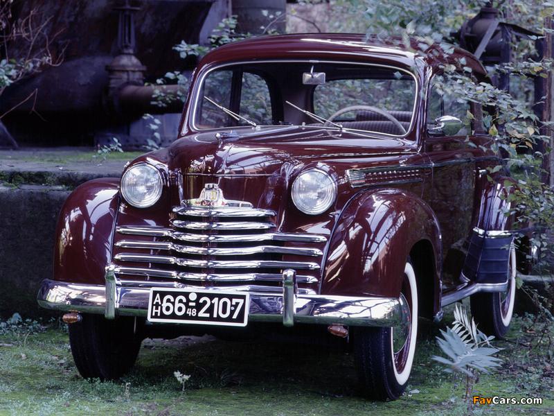 Opel Olympia 2-door Limousine 1950–53 images (800 x 600)