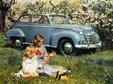 Opel Olympia Cabriolet 1950–53 pictures