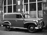 Opel Olympia Lieferwagen 1950–53 pictures