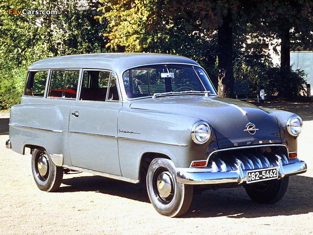 Opel Olympia Rekord Caravan 1953–57 images (640 x 480)