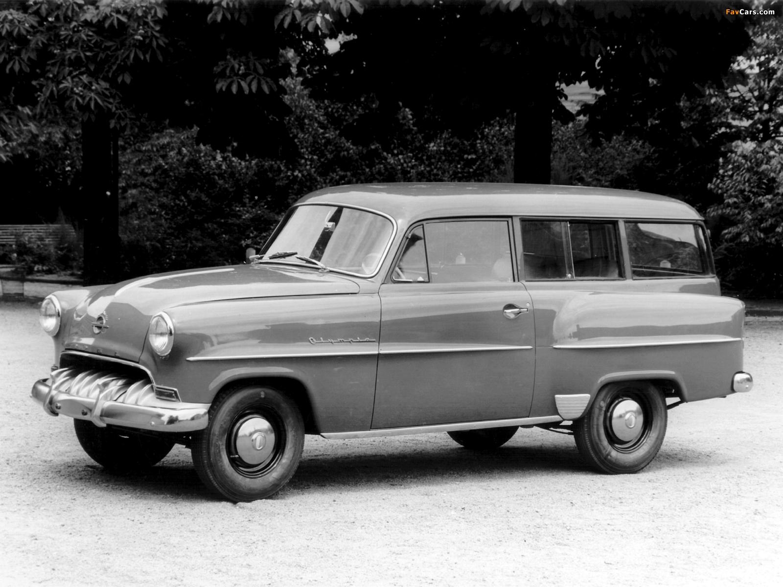 Opel Olympia Rekord Caravan 1953–57 pictures (1600 x 1200)