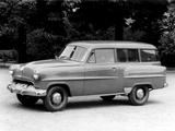 Opel Olympia Rekord Caravan 1953–57 pictures