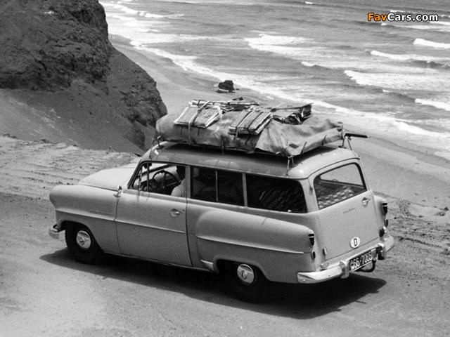 Opel Olympia Rekord Caravan 1953–57 pictures (640 x 480)