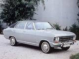 Opel Olympia 4-door Limousine (A) 1967–70 photos