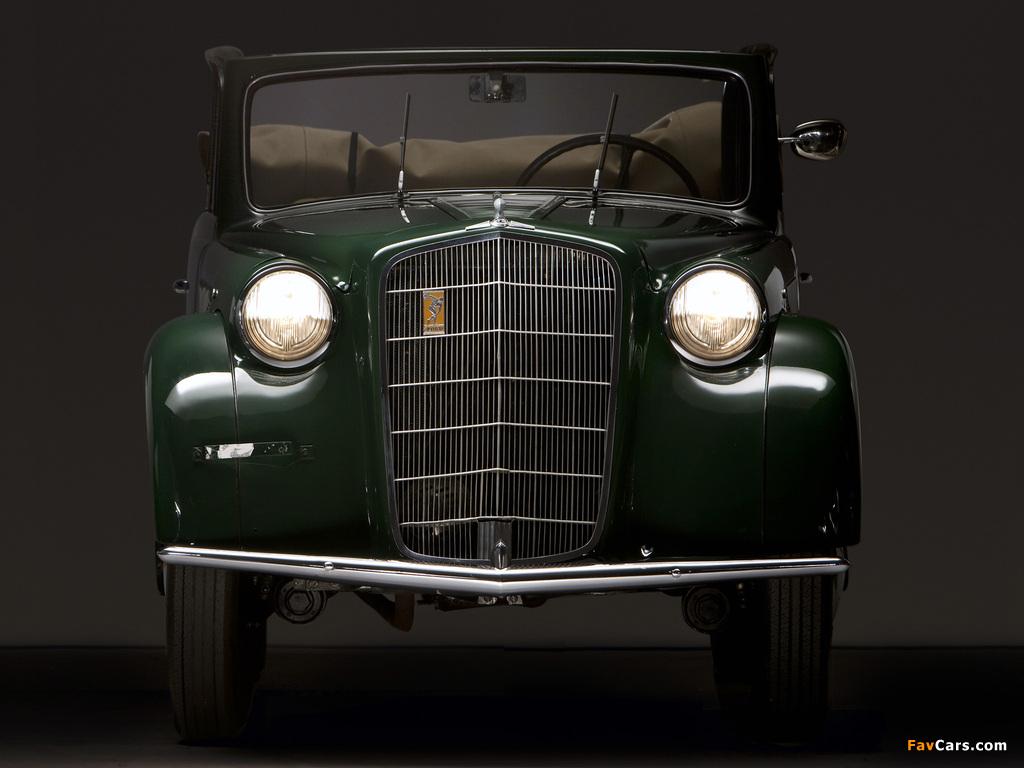 Photos of Opel Olympia Cabrio Limousine 1935–37 (1024 x 768)