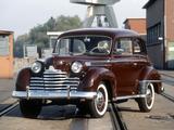 Photos of Opel Olympia 2-door Limousine 1950–53