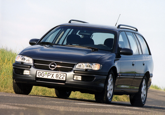 Images Of Opel Omega MV6 Caravan B 1994 99