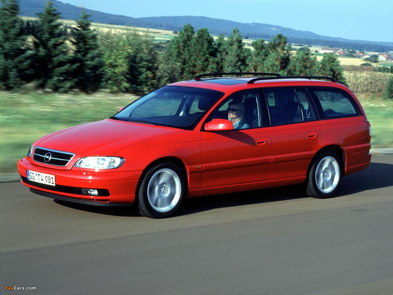 Images Of Opel Omega Caravan B 1999 2003 1280x960