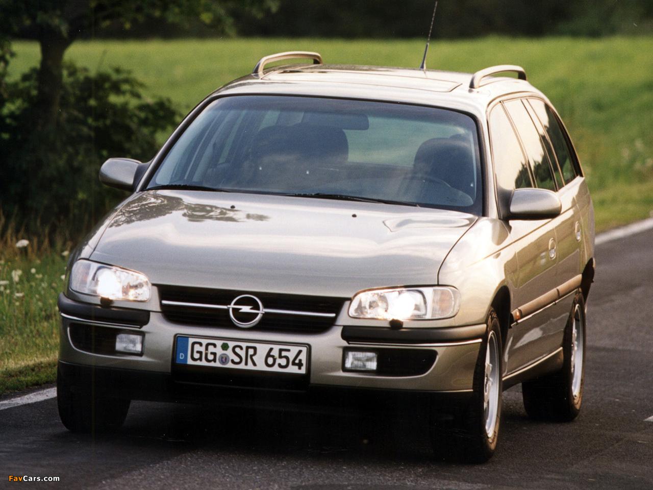 Opel Omega Caravan (B) 1994–99 photos (1280 x 960)