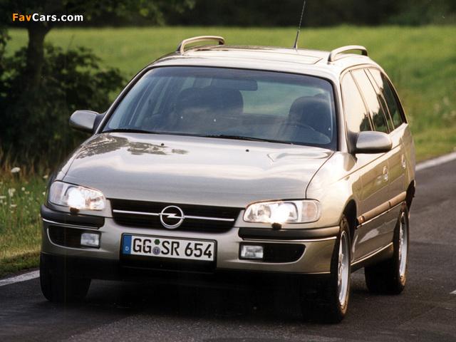 Opel Omega Caravan (B) 1994–99 photos (640 x 480)