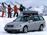 Opel Omega Caravan (B) 1999–2003 wallpapers