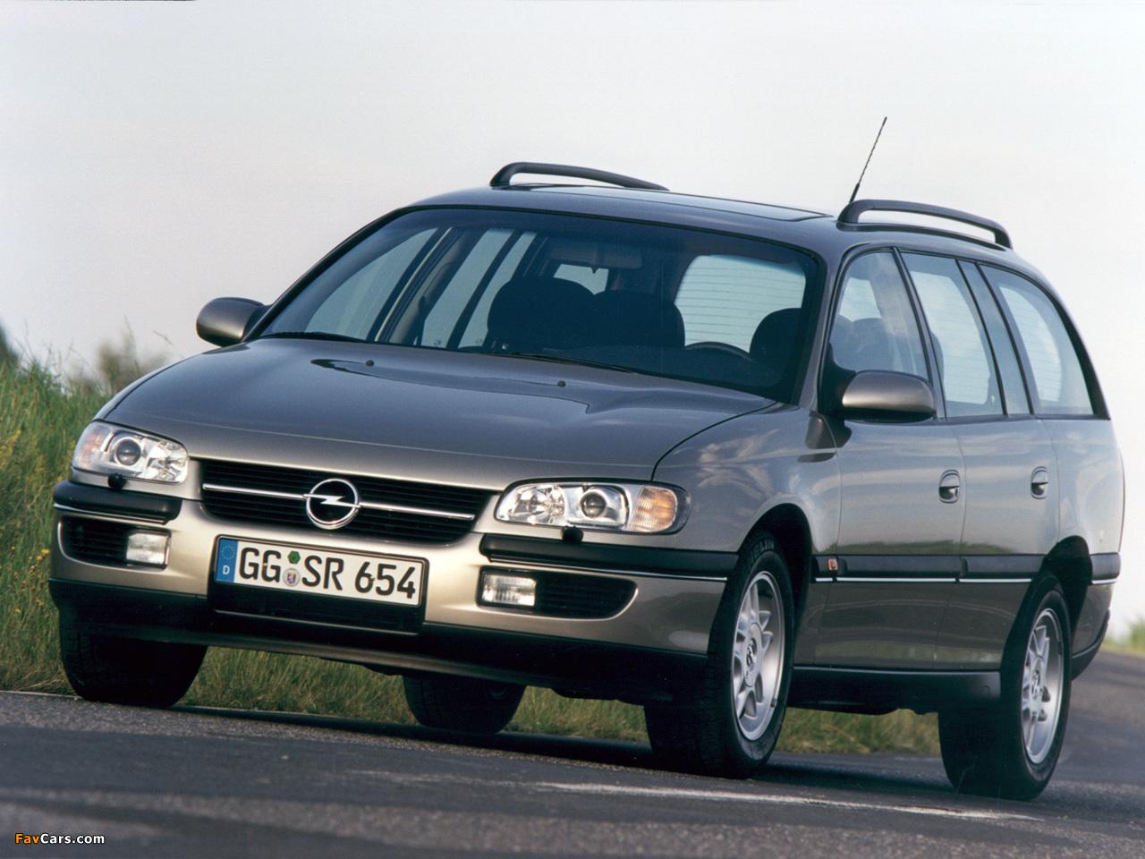 Pictures Of Opel Omega Caravan B 1994 99
