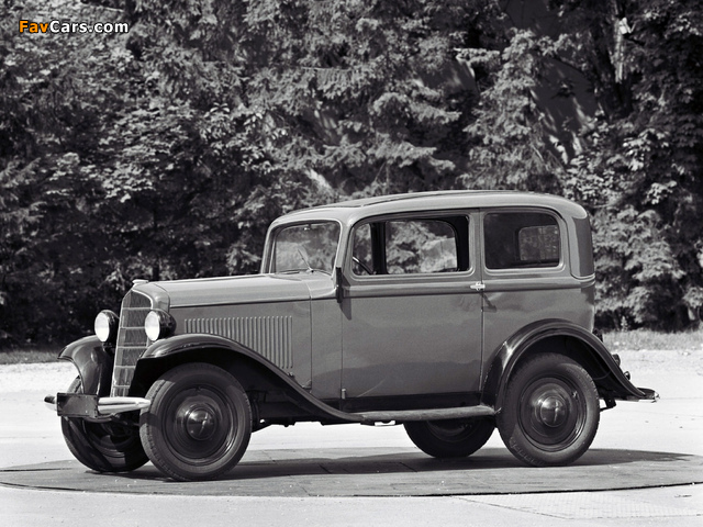 Pictures of Opel P4 1935–37 (640 x 480)