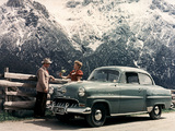 Opel Olympia Rekord 1953–57 wallpapers