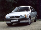 Opel Rekord (E2) 1982–86 pictures