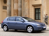 Opel Signum 2003–05 images