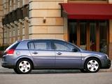 Opel Signum 2003–05 wallpapers