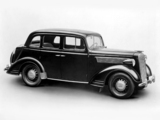 Pictures of Opel Super Six Sedan 1936–38