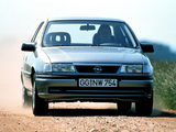 Images of Opel Vectra V6 (A) 1993–95
