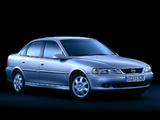 Images of Opel Vectra Sedan (B) 1999–2002