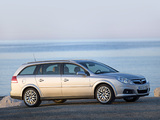 Images of Opel Vectra Caravan (C) 2005–08