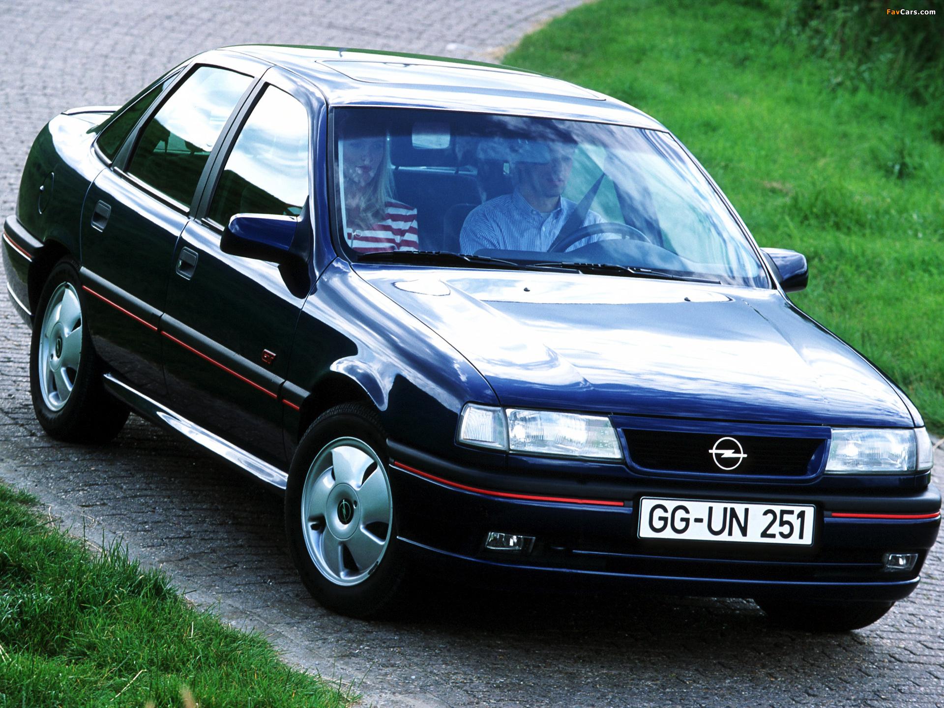 Opel Vectra GT Sedan (A) 1992–94 wallpapers (1920 x 1440)