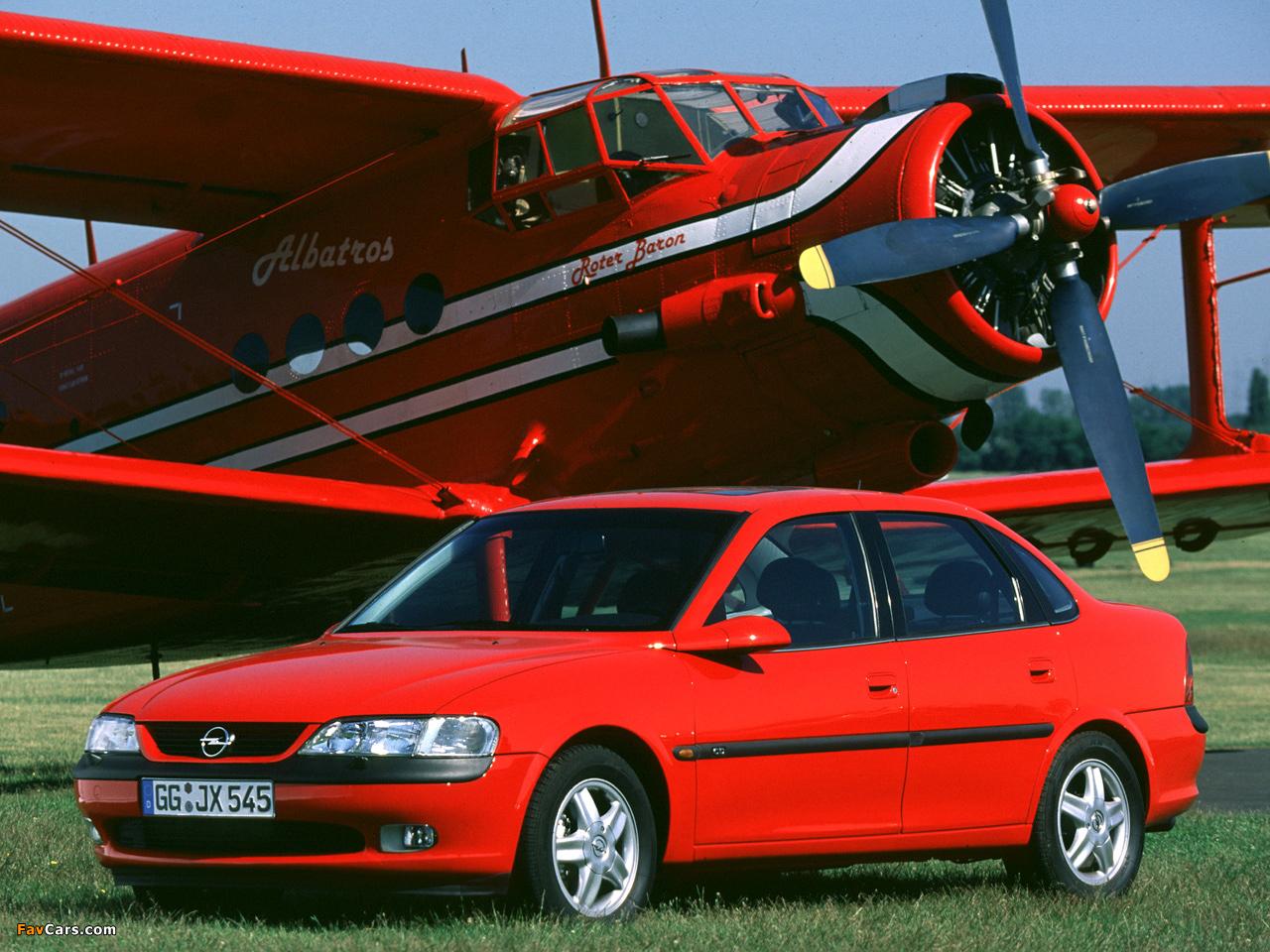 Opel Vectra Sedan (B) 1995–99 images (1280 x 960)