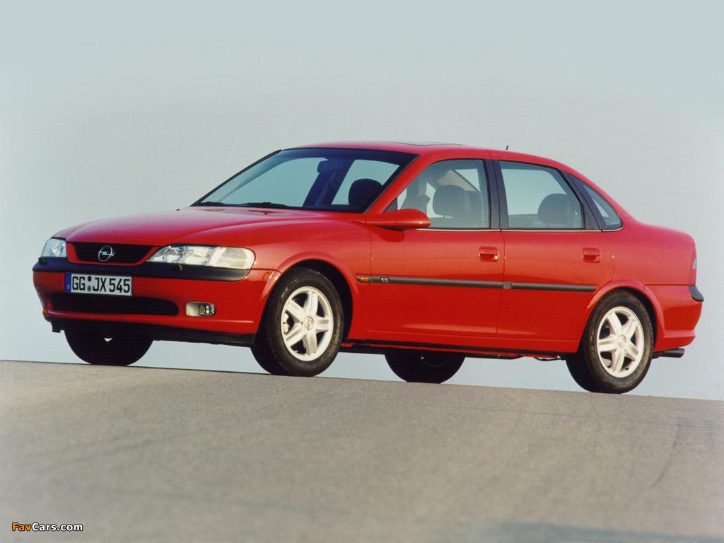 Opel Vectra Sedan (B) 1995–99 photos (1024 x 768)