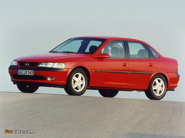 Opel Vectra Sedan (B) 1995–99 photos (640 x 480)