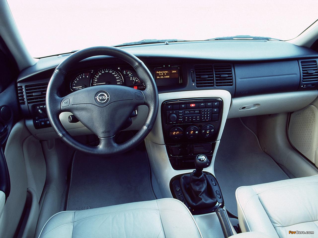 Opel Vectra Caravan Design Edition (B) 2000 photos (1280 x 960)