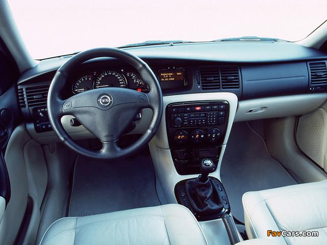 Opel Vectra Caravan Design Edition (B) 2000 photos (640 x 480)