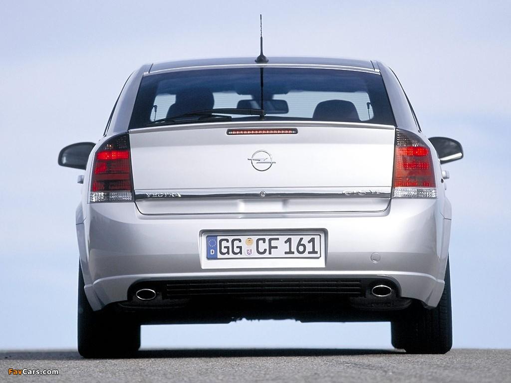 Opel Vectra GTS (C) 2002–05 photos (1024 x 768)
