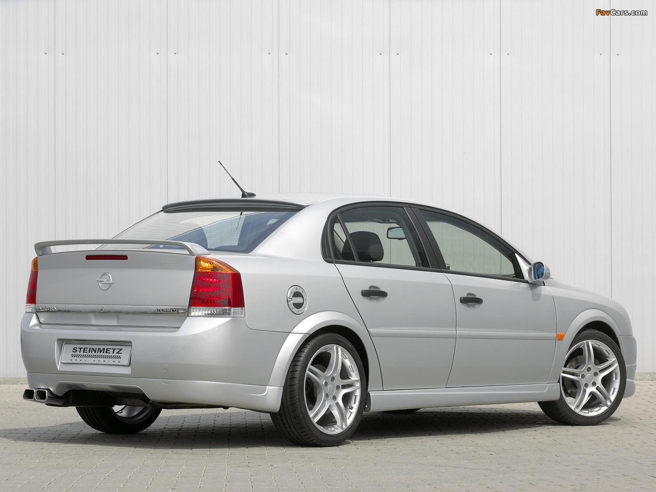 Steinmetz Opel Vectra Sedan (S) 2002–05 photos (1280 x 960)
