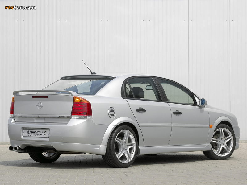 Steinmetz Opel Vectra Sedan (S) 2002–05 photos (800 x 600)