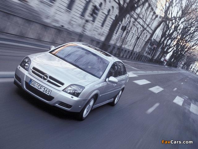 Opel Vectra GTS (C) 2002–05 photos (640 x 480)
