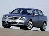 Opel Vectra Sedan (C) 2002–05 pictures