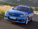 Opel Vectra Caravan OPC (C) 2005–08 wallpapers
