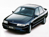 Photos of Opel Vectra Sedan (A) 1988–92