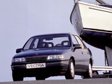 Photos of Opel Vectra Sedan (A) 1988–92