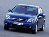 Photos of Opel Vectra Sedan (C) 2002–05