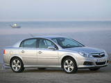 Photos of Opel Vectra Sedan (C) 2005–08