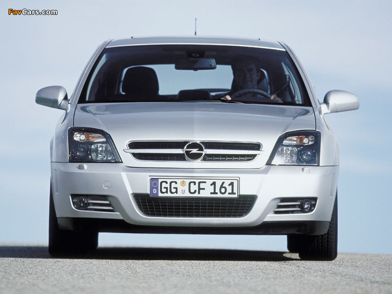 Pictures of Opel Vectra GTS (C) 2002–05 (800 x 600)